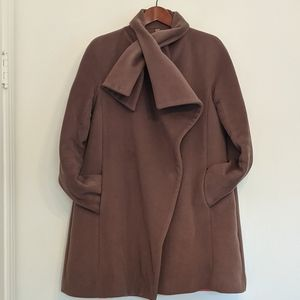 ANDY THE ANH 4US - 6US Wool Cape Coat